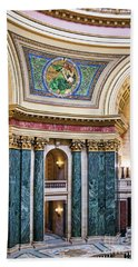 Capitol - Madison - Wisconsin Beach Towel