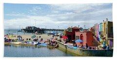 Capitola Begonia Festival Weekend Beach Towel by Amelia Racca