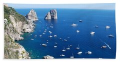 Capri  Beach Sheet by Dany Lison