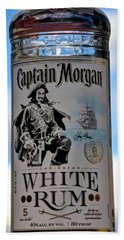 Captain Morgan White Rum Beach Towel