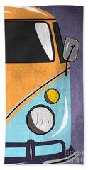 Car  Beach Towel by Mark Ashkenazi