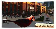 Cardinal Town Beach Sheet