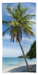 Beach Towel featuring the photograph Caribbean Blues by Betty LaRue