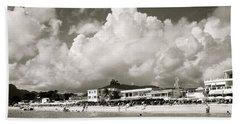 Caribbean Cloudfall Beach Towel