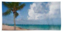 Beach Towel featuring the photograph Caribbean Dreams by Betty LaRue