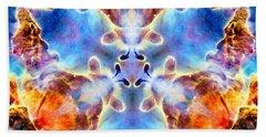 Carina Nebula Vi Beach Towel