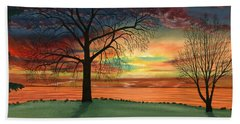 Carla's Sunrise Beach Towel