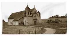 Carmel Mission Monterey Co. California Circa 1890 Beach Towel