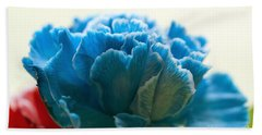Carnation In Blue Beach Sheet