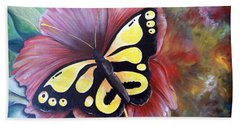 Carnival Butterfly Beach Towel