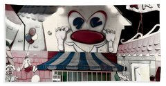 Beach Towel featuring the photograph Carnival Fun House by Donna Lee