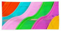 Carnival Slide Beach Towel by Art Block Collections