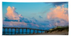Carolina Blue Over Kure Beach Beach Towel