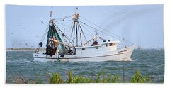 Carolina Girls Shrimp Boat Beach Sheet