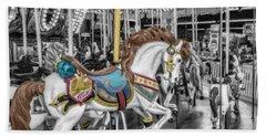 Carousel Horse Equ168125 Beach Towel