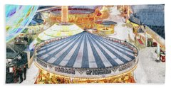 Carousel Waltz Beach Sheet