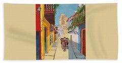 Cartagena's Calash Beach Towel