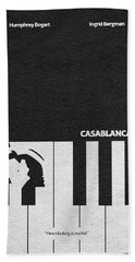 Casablanca Beach Towel
