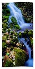 Cascade Creek Beach Towel