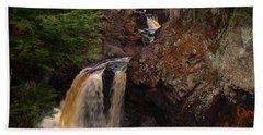 Cascade River Beach Towel by James Peterson