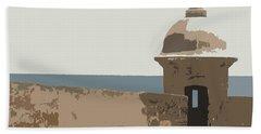 Casita Beach Sheet by Julio Lopez