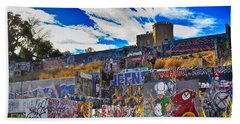 Austin Castle And Graffiti Hill Beach Sheet