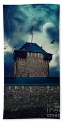 Castle Burg Beach Towel