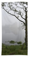 Castle Kilchurn Tree Beach Towel