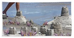 Castle Kingdom  Beach Towel by Betsy Knapp