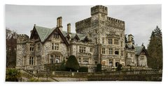 Hatley Castle Beach Towel by Marilyn Wilson