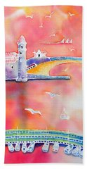 Catalan Sunset Beach Towel
