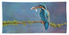 Catch Of The Day Beach Towel by David Stribbling