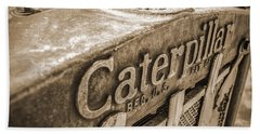 Caterpillar Vintage Beach Towel