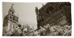 Cathedral Of Seville Beach Towel