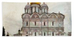 Cathedral Of The Archangel Beach Towel