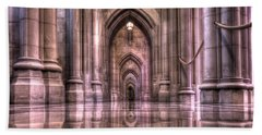 Cathedral Reflections Beach Towel