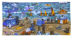 Cats And Dogs Beach Towel