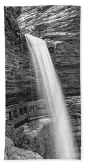 Cavern Cascade Watkins Glen Beach Towel