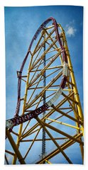 Cedar Point - Top Thrill Dragster Beach Towel