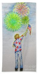 Celebrate America Beach Sheet