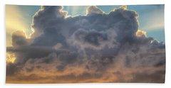 Celestial Rays Beach Towel