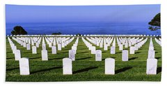 Cemetery At Waterfront, Fort Rosecrans Beach Towel