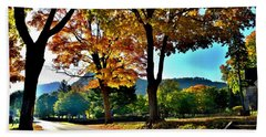 Cemetery Road Beach Towel