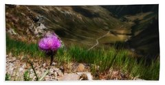 Centaurea Beach Towel