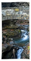 Central Cascade Beach Towel