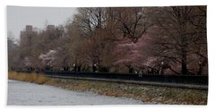 Beach Sheet featuring the photograph Central Park 4 by Chris Thomas