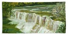 Chagrin Falls Beach Towel