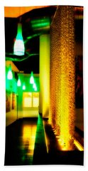 Chain Lighting Beach Sheet by Melinda Ledsome