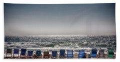 Chairs Watching The Sunset Beach Towel