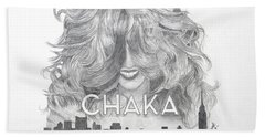 Chaka 40 Years Beach Towel